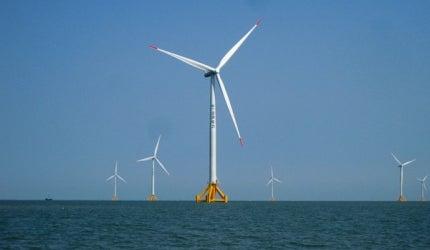 Jiangsu Rudong Offshore (Intertidal) Wind Farm