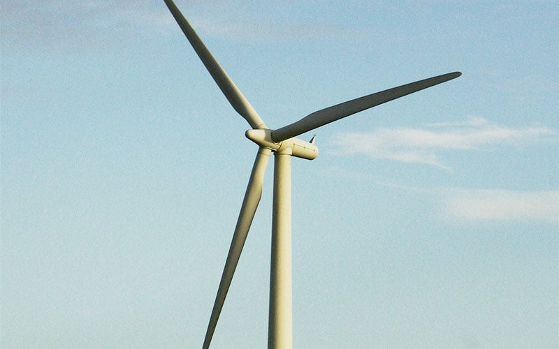The Shannon wind farm is equipped with 119 wind turbines.