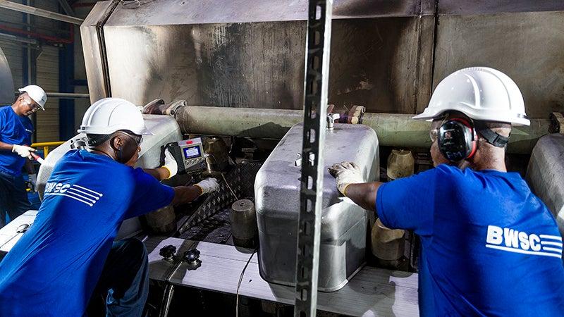 BWSC operations and maintenance