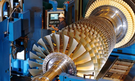 CPV Valley Engery Center turbines
