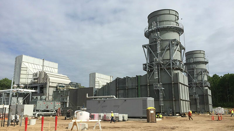 Apline power plant