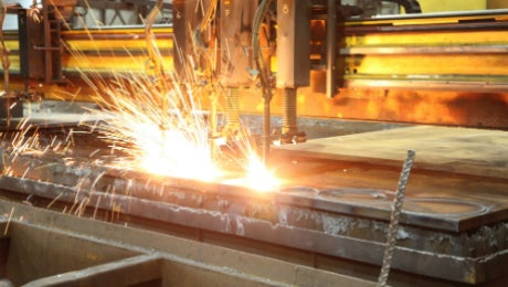 Brown McFarlane steel cutting