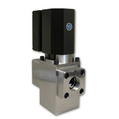 Electrically Actuated Gas Control Valves