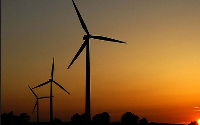 Egyptian wind farm