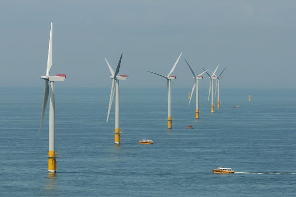 Galloper offshore wind farm