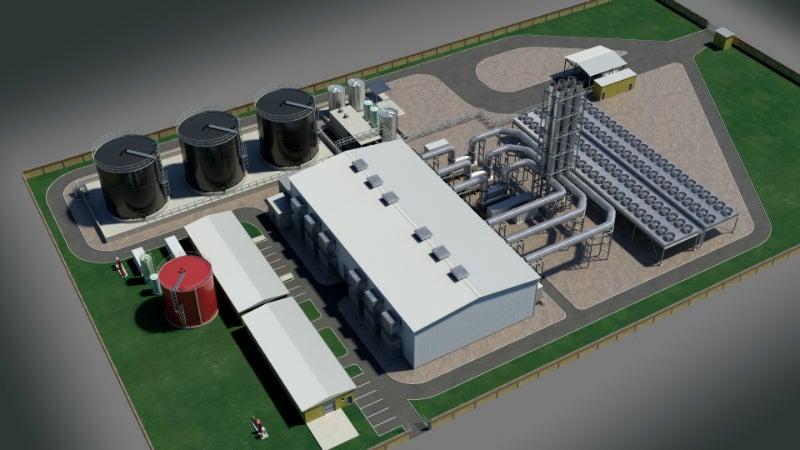 Mali Power Plant
