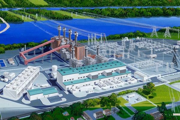 Panda Hummel Station power plant