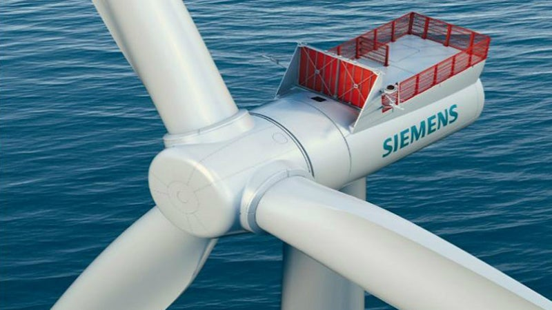 Rentel offshore wind farm