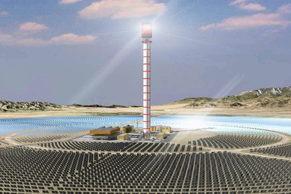 Huanghe Qinghai Delingha Solar Thermal
