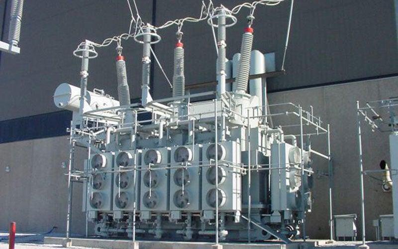 Zambian hydro power station