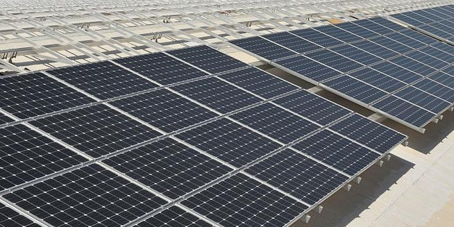 Rooftop solar project